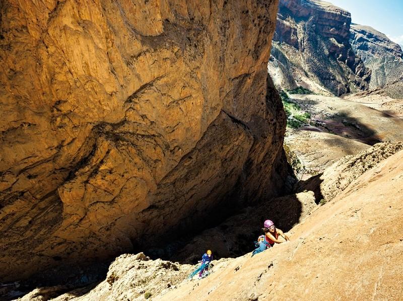 16. Voici les meilleurs spots pour faire de l'escalade au Maroc